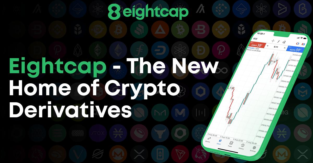 Eightcap launches 250+ Crypto derivatives